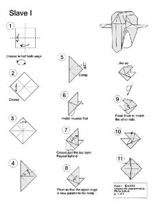 "Slave I | 10 Diagrams To Create Your Own ""Star Wars"" Origami"