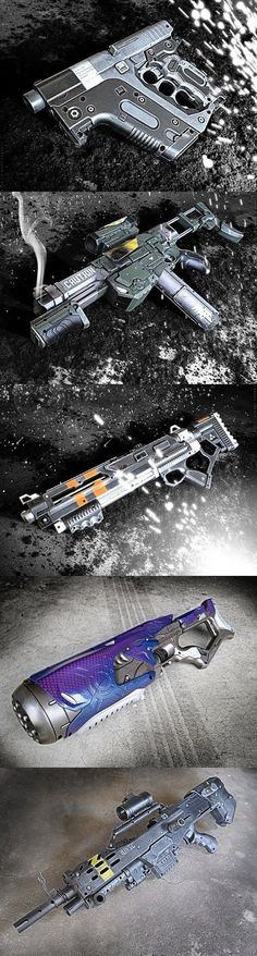 Halo Inspired Nerf Guns - Ideas of Nerf Gun - Halo Inspired Nerf Guns. Is like Schwarzenegger hard to spell? Sci Fi Weapons, Concept Weapons, Weapons Guns, Guns And Ammo, Airsoft Guns, Gun Video Game, Video Games, Science Fiction, Rifles