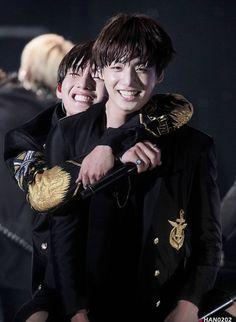 """taehyung looks so happy every time he hugs jungkook and same goes for jungkook as well i'm sobbing"" Jimin, Bts Bangtan Boy, Jungkook 2016, Taekook, Jung Kook, Wattpad, K Pop, True Blood Werewolf, Kpop Love"