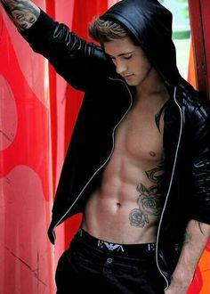 Hot guy inked tattoo