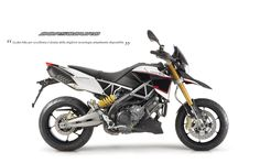 #Aprilia #Dorsoduro1200 ABS ATC white colour