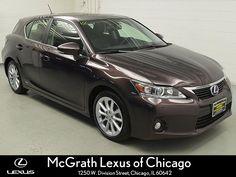 Vehicle Spotlight, 2012 LEXUS CT 200H PREMIUM: McGrath Lexus of Chicago Blog
