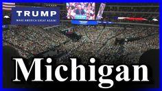 LIVE Donald Trump Warren Michigan Rally HUGE CROWD - FULL SPEECH HD Maco...