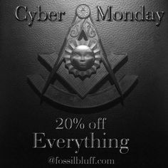 Our products are made by hand right here in the USA. @americanmadematters #fossilbluff .. .. .. #cybermonday #freemason #masonic #leather #pastmaster #flashsale