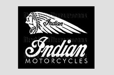 Indian Motorcycles Indian Motorcycle Cross by NewYorkNeedleworks, $8.50
