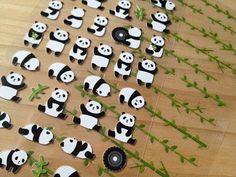 Baby Panda sticker mini panda bear animal label by StickersKingdom