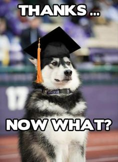 what every single person graduating is thinking