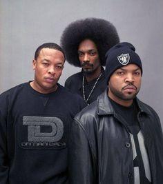 Dre, Snoop & Ice Cube