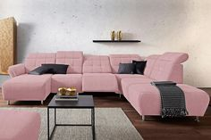 make your home your castle with a pastel colored couch💕 #cnouch #living #pastelcolors #millenialpink