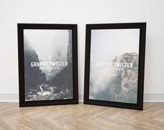 Double Black Image Frame | Premium and Free PSD Resources