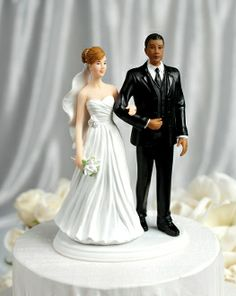 Interracial Wedding Couple - Multiple Ethnicities