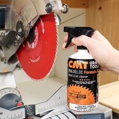 Clean saw blades to improve the quality of your cuts, reduce the corrosion of your blades and keep your tools running at peak performance.