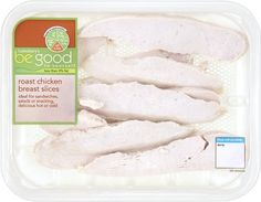 Sainsbury's Be Good to Yourself Sliced Roast Chicken Breast Slices (210g)