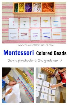 Montessori Color Beads