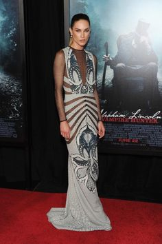 "Erin Wasson, styled by Rachel Zoe at ""Abraham Lincoln:Vampire Slayer 3D"" New York Premiere."