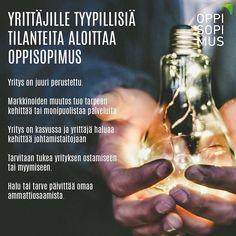 Oppisopimus käy myös yrittäjille. Kysy lisää lähimmältä oppisopimustoimijalta. Yhteystiedot löydät osoitteesta oppisopimus.fi #oppisopimus #yritys #yrittäjä #yrittäjyys #koulutus #tutkinto