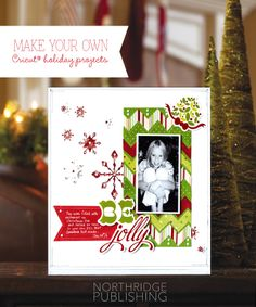 Christmas layouts using your Cricut® + 20% off coupon!