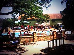 The pool at Newk's Tennis Ranch