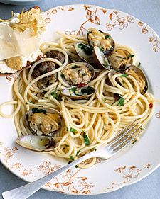 Spaghetti with Clams - Martha Stewart Recipes