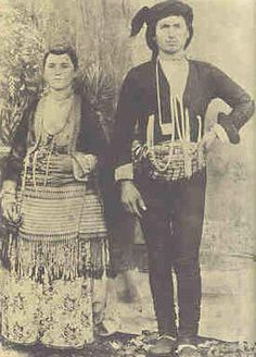 Traditional festive costumes of the 'Rum' (Greek-Orthodox) inhabitants from the… Greek Independence, Old Greek, Greek History, Cultural Identity, Photographs Of People, In Ancient Times, Black Sea, Traditional Outfits, Old Photos