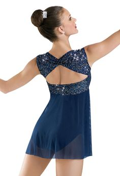 Embroidered Sequin Lace Dress; Weissman Costumes