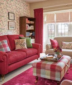 Cranberry Cottage ~ Laura Ashley. Such a pretty color!