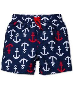 Little Me Baby Boys' Anchor Swim Trunks
