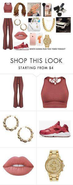 """Puff Mommy"" by booboo71304 ❤ liked on Polyvore featuring NIKE, Lime Crime, Fantasy Jewelry Box and Citizen"