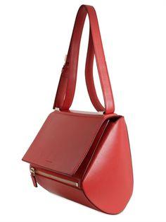 PANDORA BOX TEXTURED LEATHER BAG