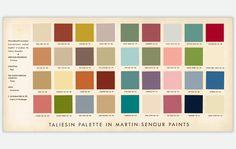 1950s Colour And Paint Colours On Pinterest
