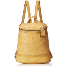 FRYE Campus Small Backpack featuring polyvore, fashion, bags, backpacks, frye, rucksack bag, shoulder strap bag, frye bags and knapsack bags
