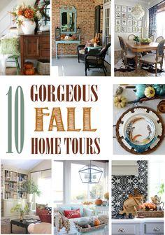 10 Gorgeous Fall Home Tours