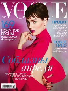 nice Vogue Ucrânia   Capa Abril 2013   Zuzanna Bijoch