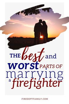 It's not all fun being married to a firefighter- in fact there are a few things unique to Firefighter life that can make things difficult. Do you know all the pros and cons to be married to a Firefighter? Firefighter Family, Firefighter Wedding, Wildland Firefighter, Firefighter Quotes, Volunteer Firefighter, Firefighters Wife, Firefighter Decor, Firemen, Christian Wife