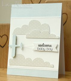 'Welcome Baby Boy' card❣ Lucy Abrams • Flickr