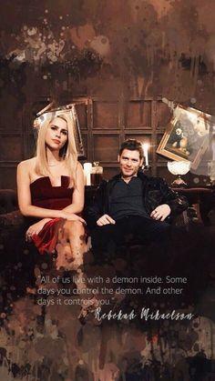 Rebekah and Klaus Vampire Diaries The Originals, The Originals Rebekah, The Originals Tv, Vampire Diaries Quotes, The Mikaelsons, Vampire Diaries Wallpaper, Klaus And Caroline, Vampier Diaries, Original Quotes
