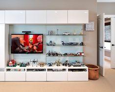 Playroom storage design idea