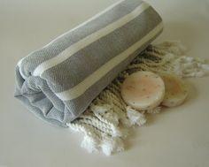Handwoven light & thin bath and beach towel by TheAnatolian, $28.00