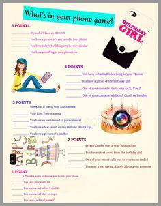 Super Ideas Sleepover Party Games For Teens Girls Birthday Party Games, Tween Party Games, Sleepover Activities, 13th Birthday Parties, 16th Birthday, Girl Birthday, Party Activities, Birthday Ideas For Teens, Teen Parties