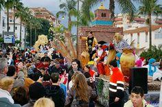 Three Kings cavalcade in Estepona