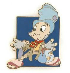 Jiminy Cricket in rags pin from Fantasies Come True