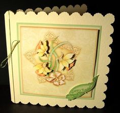 FRESH DAFFODILS topper decoupage on Craftsuprint designed by Janet Briggs - made by Dianne Jackson