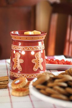 Find the Best Scented Wax & Warmers. Home & Body Products Gingerbread Decorations, Christmas Gingerbread, Outdoor Christmas Decorations, Christmas Themes, Gingerbread Cookies, Christmas Holidays, Christmas Crafts, Gingerbread Crafts, Preschool Christmas