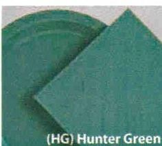 """50 Plain Solid Colors Luncheon Dinner Napkins Paper - Hunter Green by Party Favors Plus. $3.69. The napkins size is 6.5"""" x 6.5"""" folded and 13"""" x 13"""" unfolded We consolidate shipments on all store items."""