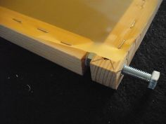 building screen printing frame