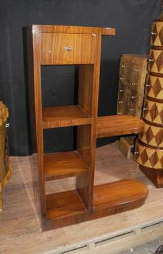 Art Deco Modernist Bookcase Shelf Unit 1920s Furniture