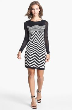 #chevron #sweater #dress