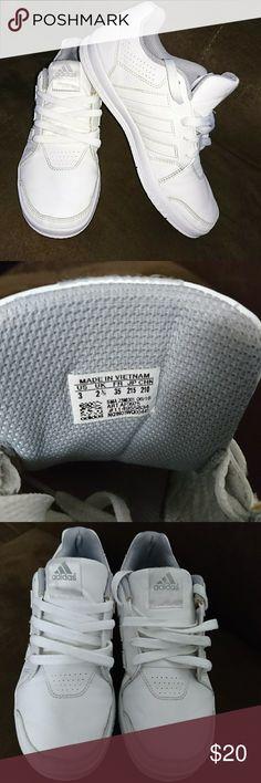 White adidas Boys white Adidas sneakers adidas Shoes Sneakers