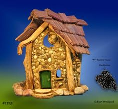 Bramble Village Fairyplay House in Bramble Village Fairy Houses at Fairy Woodland