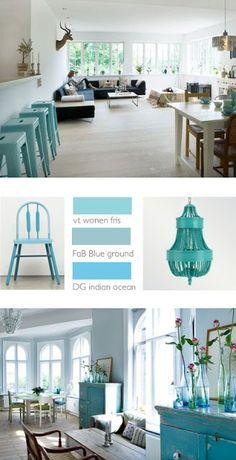 Donderdag-kleuradvies: turquoise | villa d'Esta | interieur en wonen